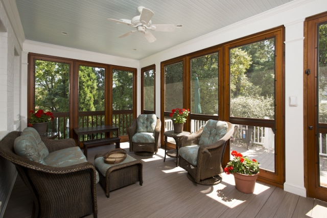 Screen Porch Addition to Home | Chevy Chase, MD