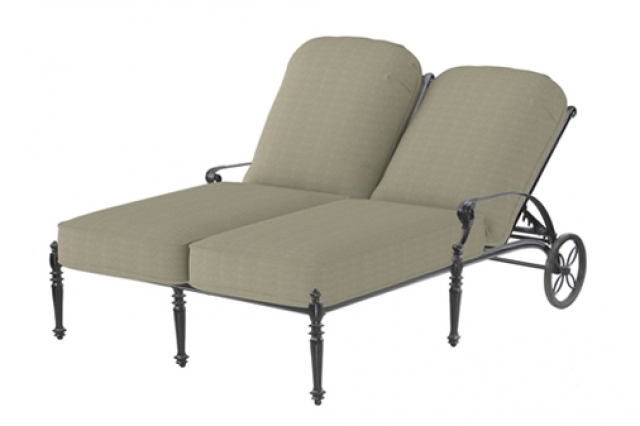 Get Double the Relaxation with the Double Chaise Lounge