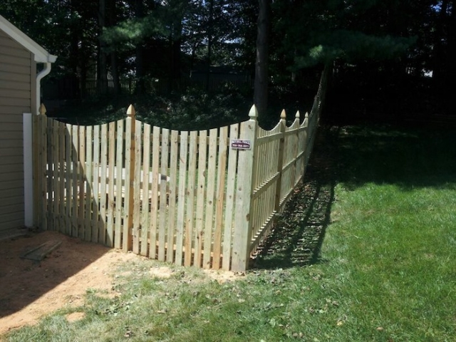 Privacy Fence Transforms Backyard | Burke, VA