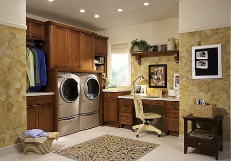 The Modern Laundry Room Is A Balance of Function and Efficiency