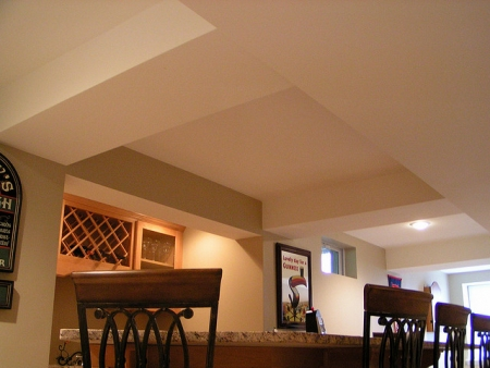 Replacing Your Basement Ceiling Using Drywall