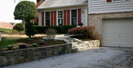 Why You Should Add Landscape Lighting to Retaining Walls | Chevy Chase MD